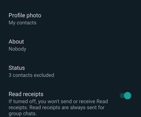 donkere modus WhatsApp
