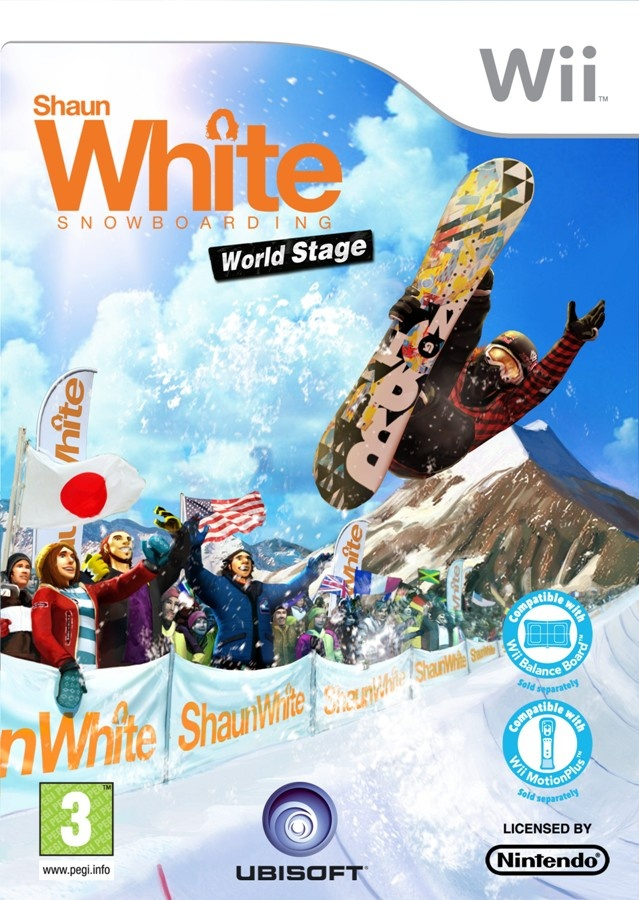 Packshot voor Shaun White Snowboarding: World Stage