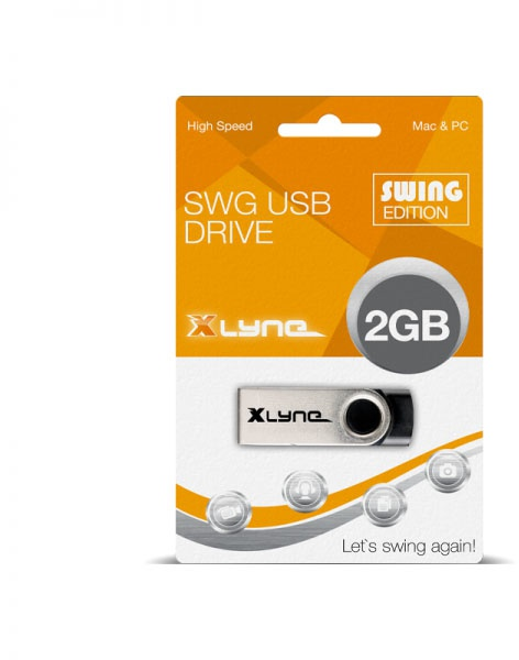 Xlyne Swing 2GB Aluminium