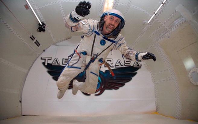 Richard Garriott in space