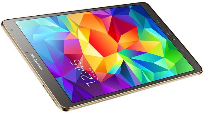 """Samsung Galaxy Tab S 8.4"""" LTE Goud"""