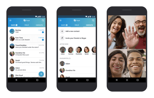 Skype voor Android