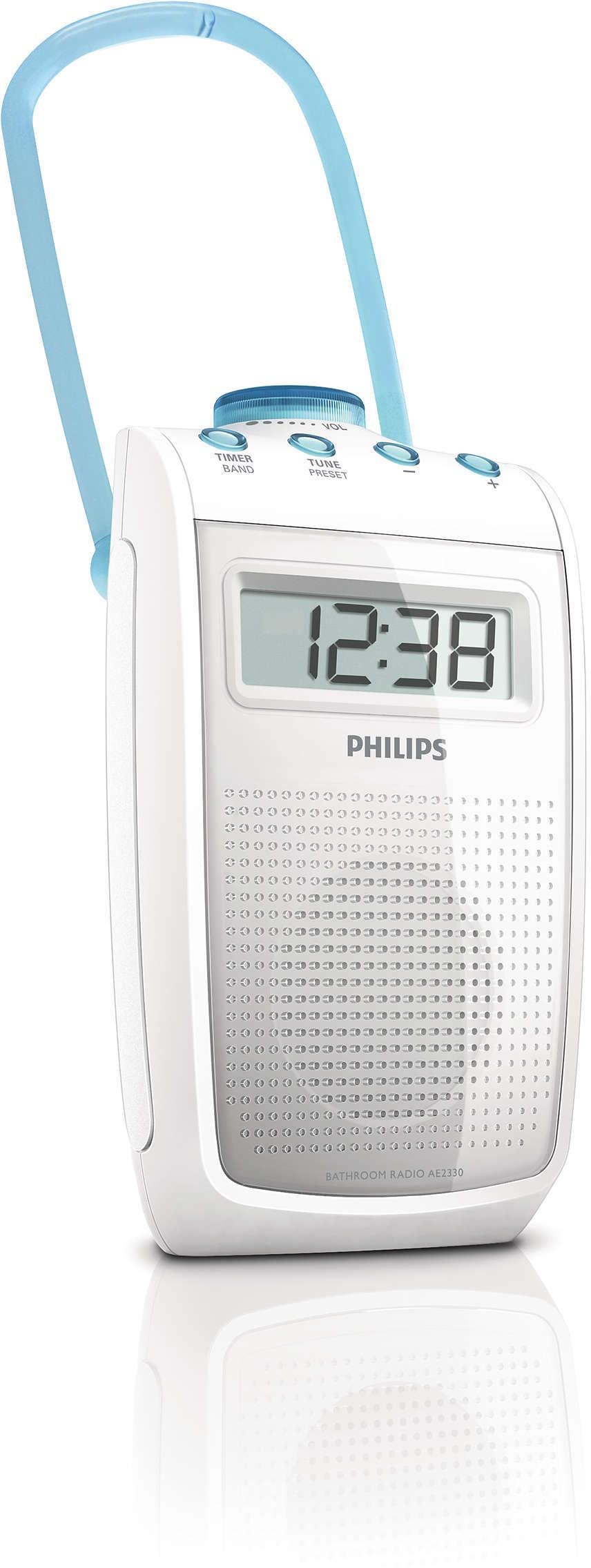 Philips AE2330 Badkamerradio - Prijzen - Tweakers