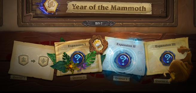 Hearthstone Year of the Mammoth