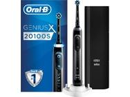 Oral-B Genius X 20100S Elektrische Tandenborstel Zwart Powered By Braun