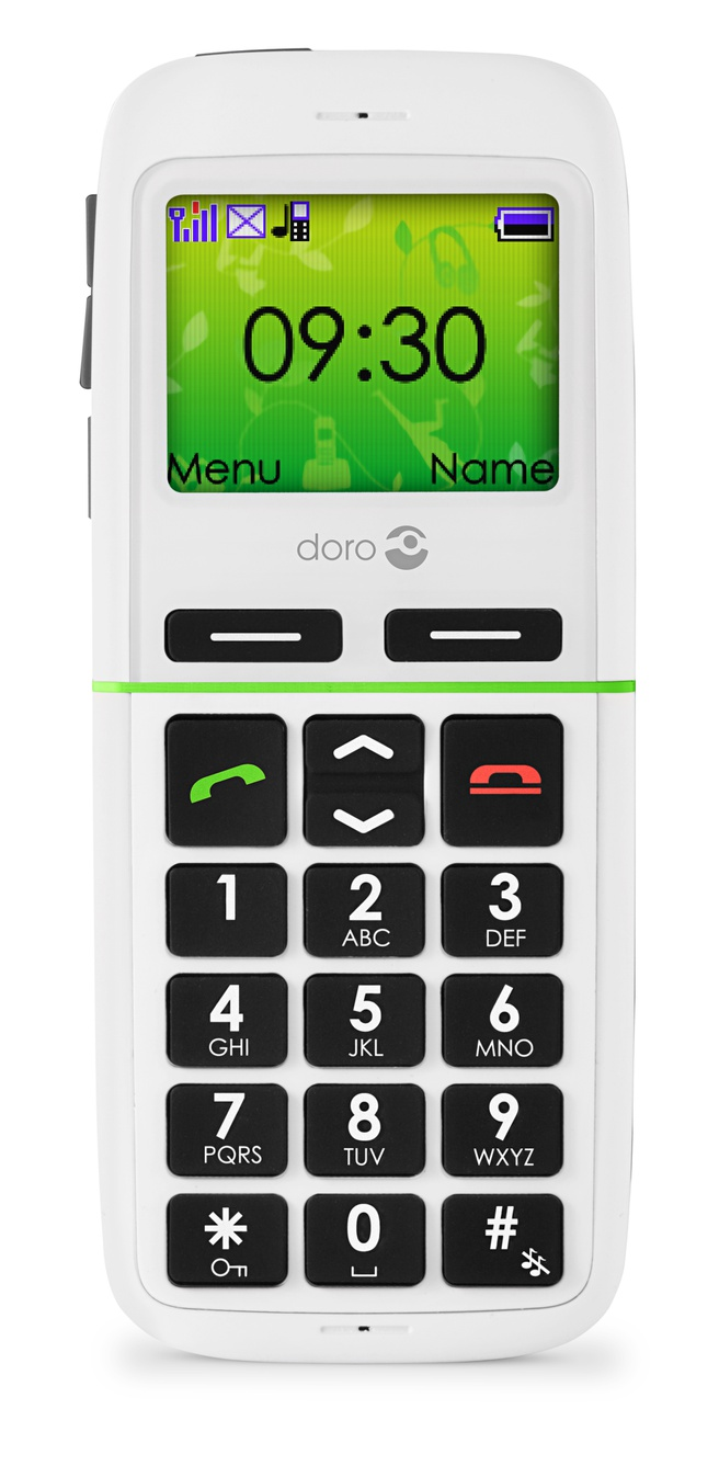 Doro PhoneEasy  345gsm Wit