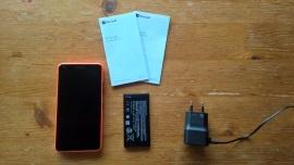Inhoud doos Lumia 640