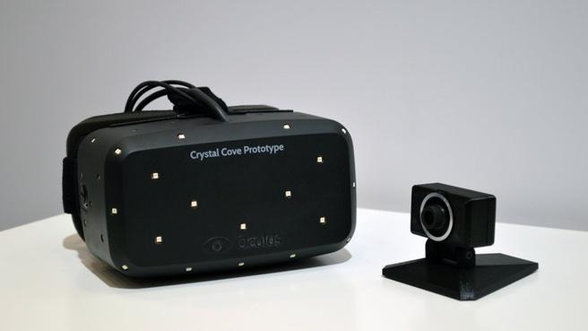 Crystal Cove-prototype van de Oculus Rift