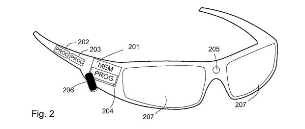 Nokia-bril uit patent