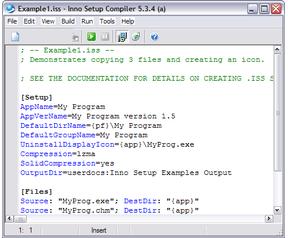 Inno Setup 5.3.4 screenshot
