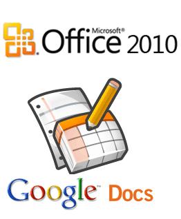 Office 2010 / Google Docs
