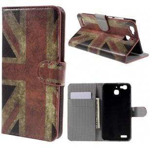 qMust Huawei P9 Wallet Case - hoesje met stand - UK