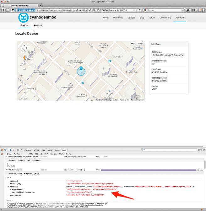 CM Device Finder