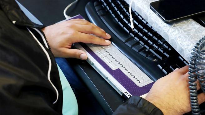 Braille leesregel