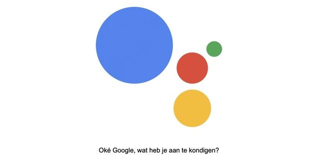 Google Assistent Vlaanderen