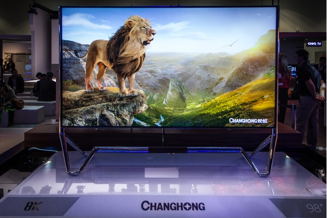 "Changhong 98"" 8k-tv"