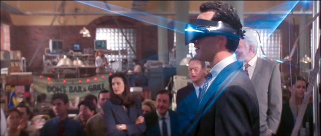 VR in de film Disclosure uit 1994
