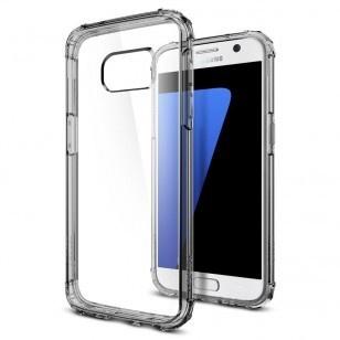 Spigen Crystal Shell Samsung Galaxy S7 Case - 555CS20098 - Dark Crystal
