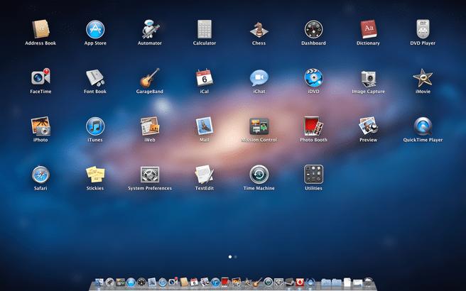 OS X Lion: Launchpad