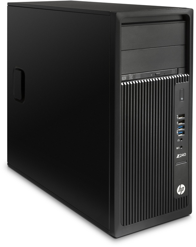 HP Z240 Tower Workstation (Y3Y83EA, Qwerty Zweeds toetsenbord)