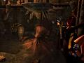 Lara vecht met een Kraken in Tomb Raider: Underworld