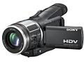 Sony HDR-HC1 videocamera - met 12,5% heffing