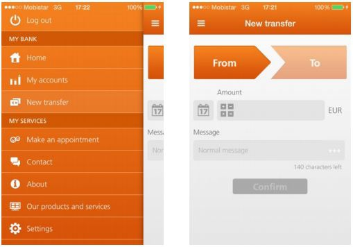 ING Belgie mobiele app