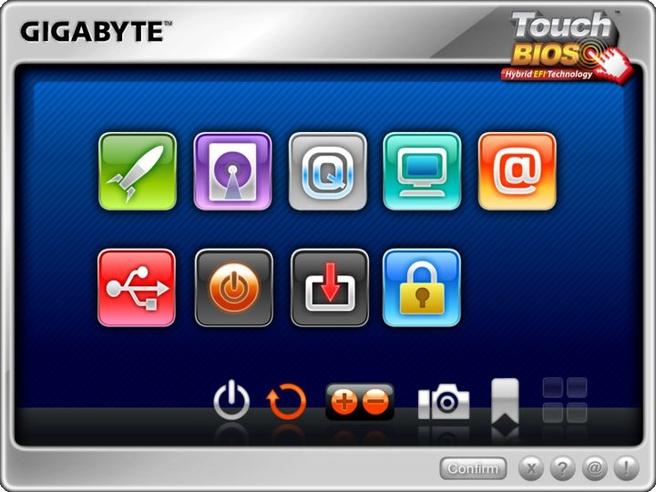 Gigabyte Touch Bios