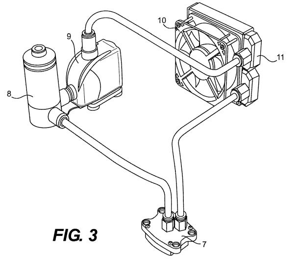 Asetek vs CoolerMaster patent