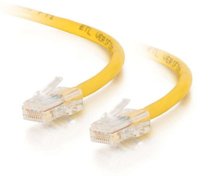 CablesToGo Cat5E Assembled UTP Patch Cable Yellow 5m