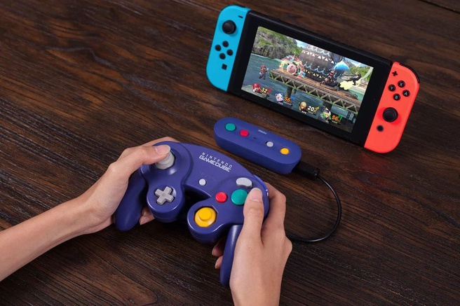 Nintendo Switch GameCube-controller adapter