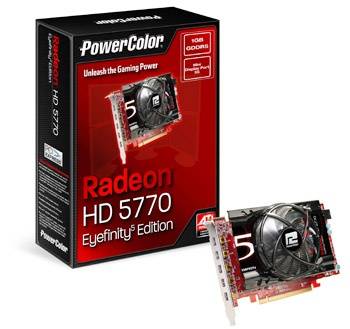 PowerColor HD 5770 Eyefinity 5