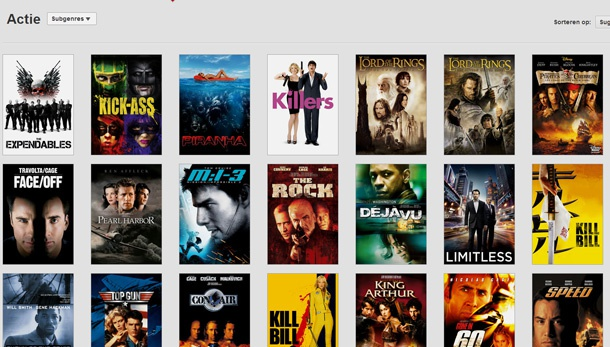 Is the movie over the top on netflix / Youtube old tamil