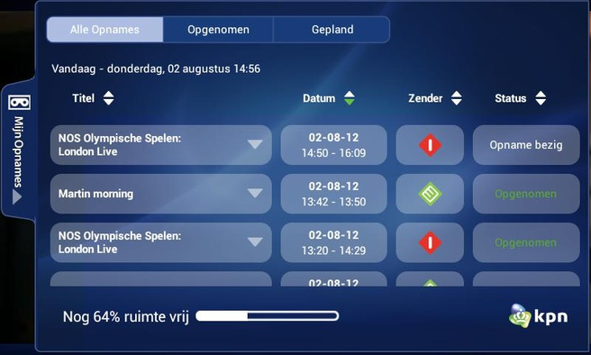 Kpn Voegt Terugkijkfunctie Voor Tv Opnames Toe Aan Itv Online App