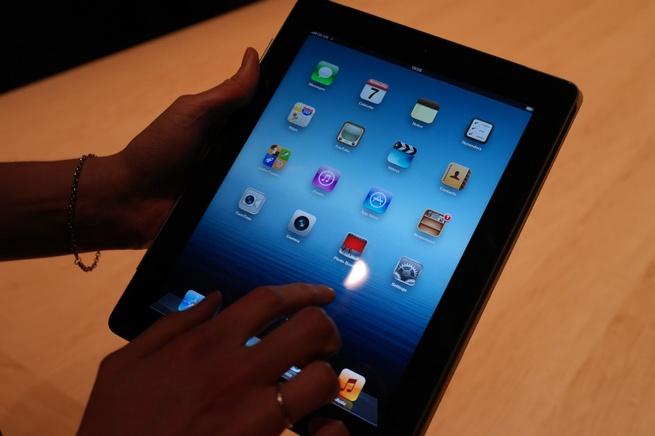 Hands-on foto nieuwe iPad (7 maart 2012)