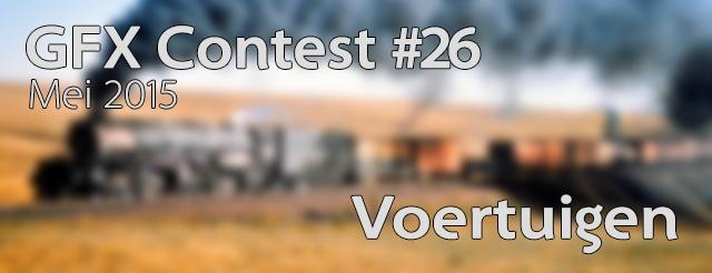 GFX Contest #26 - Voertuigen