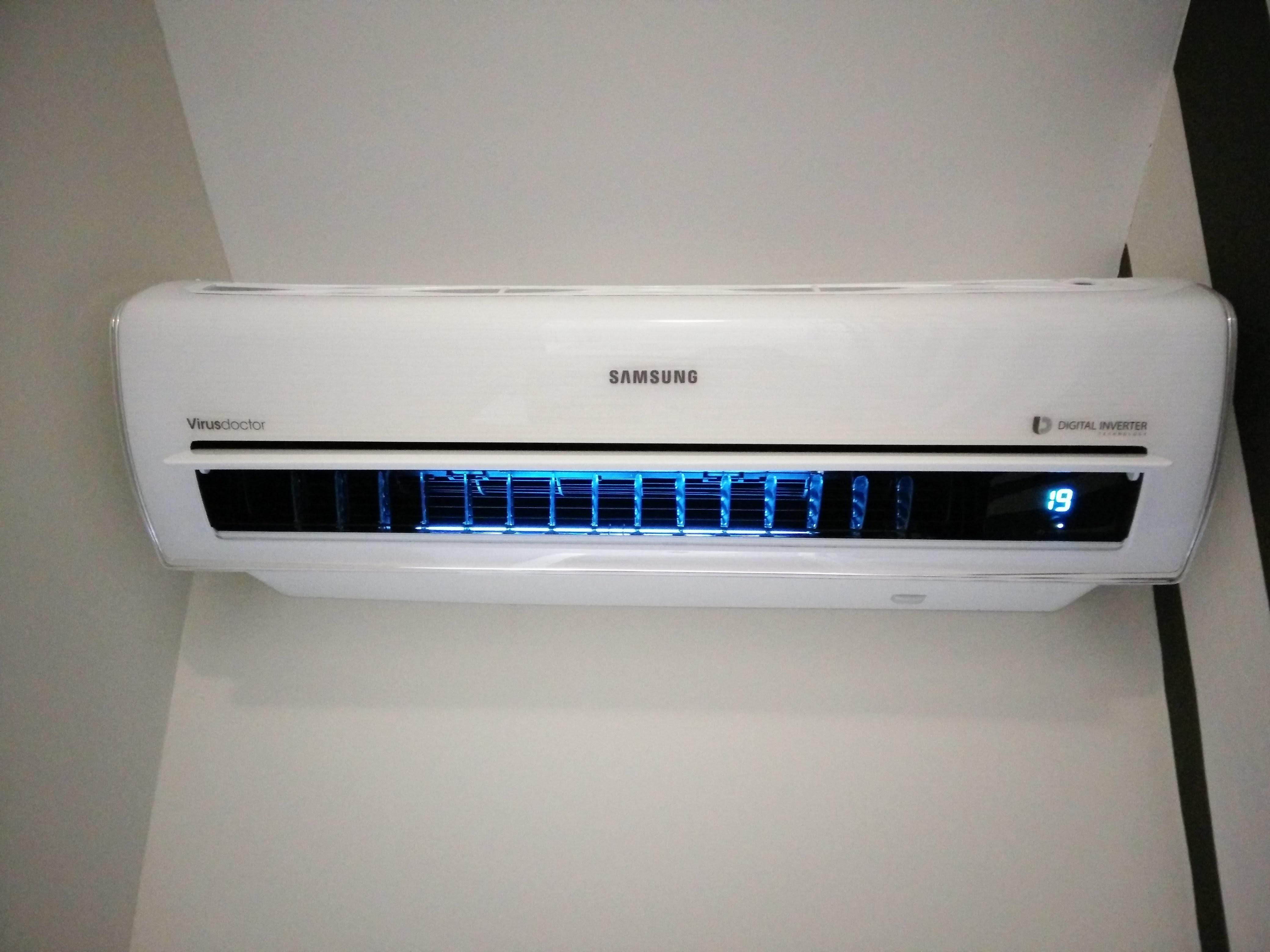 Huis verwarmen met een lucht lucht warmtepomp duurzame energie domotica got - Kleine ruimte ontwikkeling m ...