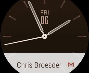 Screenshots Android Wear