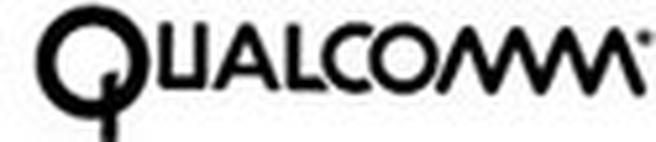Qualcomm logo (2 regels)