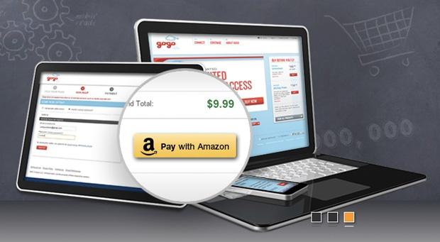 Amazon login & pay