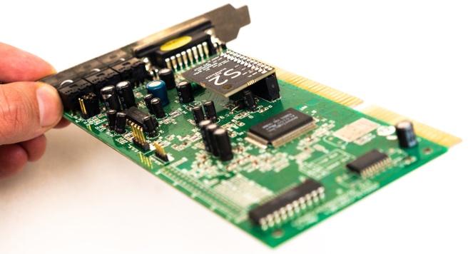 Een wavetable-module op een geluidskaart