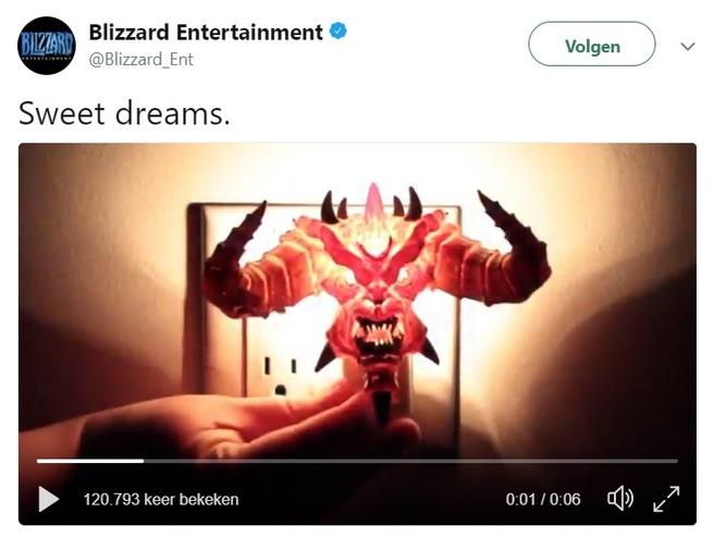 Blizzard hint naar Diablo III op Switch
