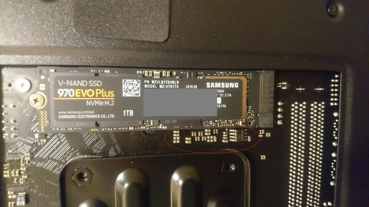 Samsung 970 Evo Plus op een ASRock Fatal1ty B450 Gaming-ITX/ac