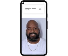 Google Fit-app meet de ademhaling van een gebruiker