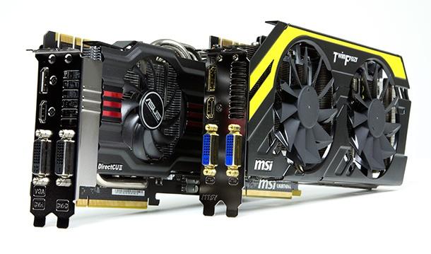 GTX 770's van Asus en Nvidia