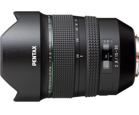 Pentax 15-30mm en 28-105mm