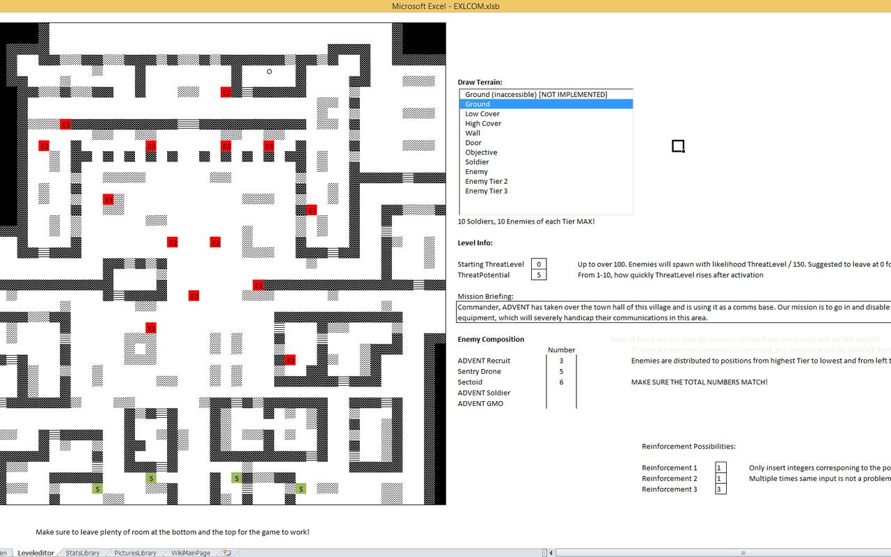 EXLCOM screenshots