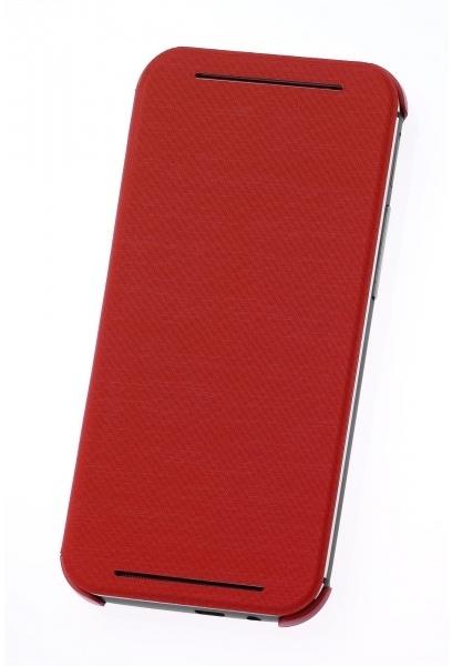 HTC One (M8) HC V941 Flip Case Rood