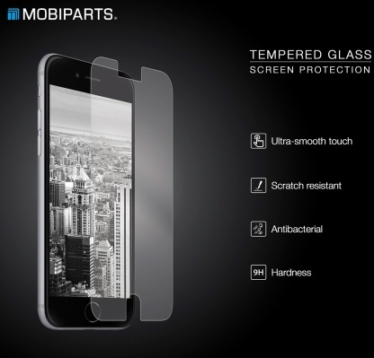 Mobiparts Tempered Glass Screenprotector Samsung Galaxy S5 Mini