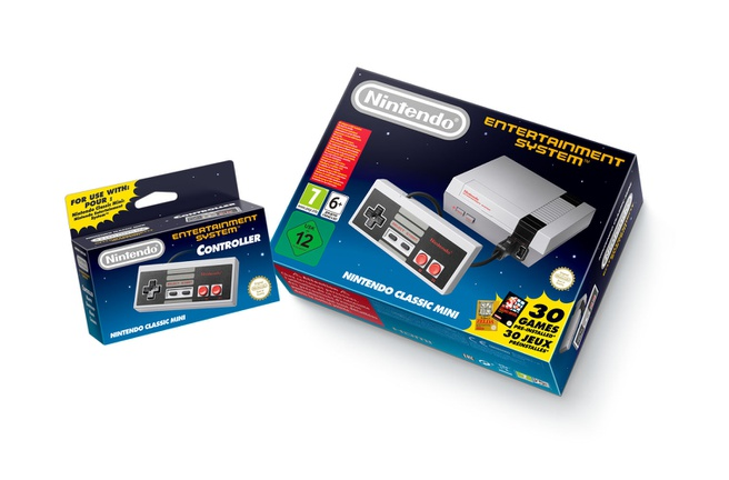 NES retroconsole Nintendo